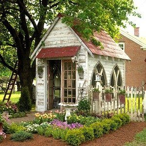 Wonderful use of old windows