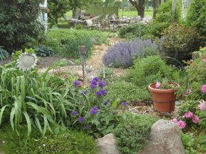 This is a photo of my Potager or Kitchen Garden... follow the link for an easy how-to!